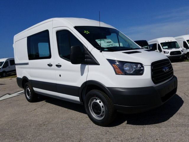 2018 Transit 250 Med Roof,  Empty Cargo Van #JKA19168 - photo 3