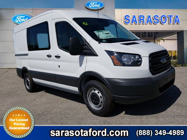 2018 Transit 250 Med Roof,  Empty Cargo Van #JKA19168 - photo 1