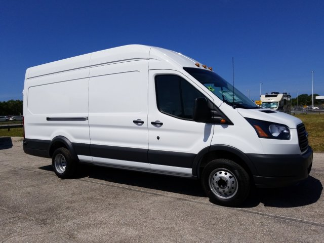2018 Transit 350 HD High Roof DRW,  Empty Cargo Van #JKA67188 - photo 3
