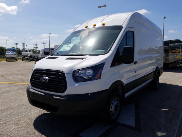 2018 Transit 350 HD High Roof DRW,  Empty Cargo Van #JKA67188 - photo 8