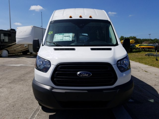 2018 Transit 350 HD High Roof DRW,  Empty Cargo Van #JKA67188 - photo 9