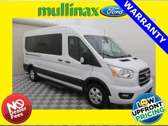 2020 Ford Transit 350 Med Roof 4x2, Passenger Wagon #A25692F - photo 1