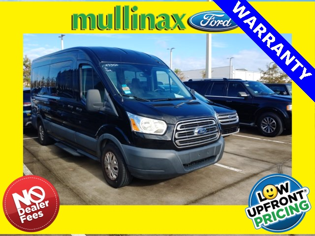 2016 Ford Transit 350 Med Roof 4x2, Passenger Wagon #A33426C - photo 1