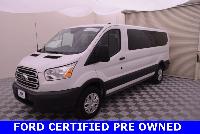 2017 Transit 350 Low Roof 4x2,  Passenger Wagon #B16399F - photo 5
