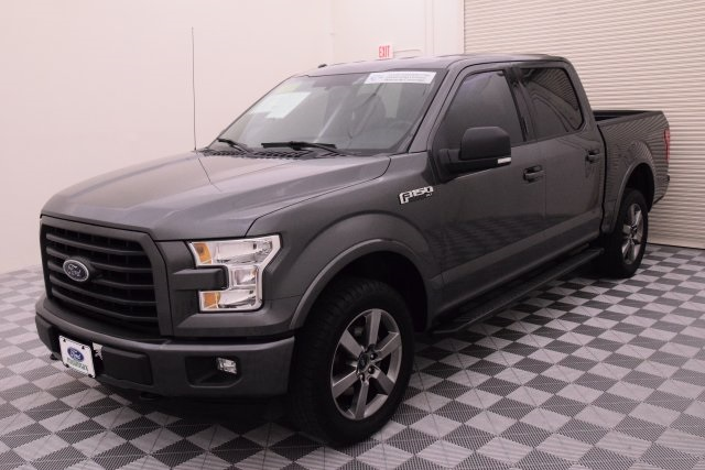 2015 F-150 SuperCrew Cab 4x4, Pickup #B74531M - photo 4
