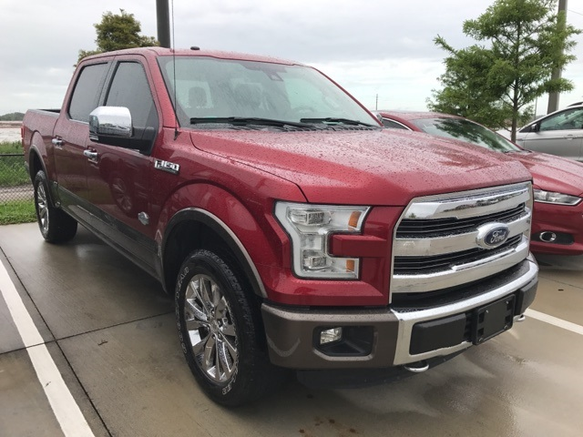 2016 F-150 SuperCrew Cab 4x4, Pickup #C78498 - photo 3