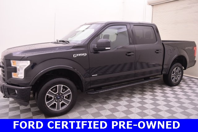 2016 F-150 SuperCrew Cab 4x4,  Pickup #C82657F - photo 4