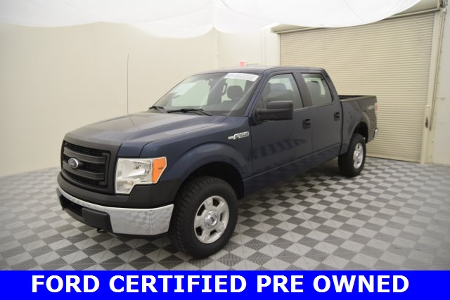 2014 F-150 SuperCrew Cab 4x4, Pickup #F72098F - photo 9