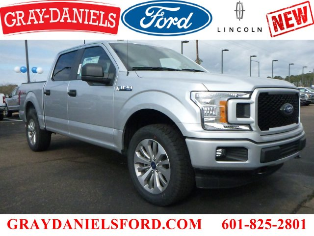 2018 F-150 Crew Cab 4x4, Pickup #JFB80339 - photo 1