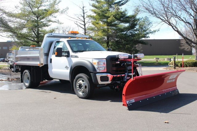 2016 F-550 Regular Cab DRW 4x4, Rugby Dump Body #FTG2671 - photo 3