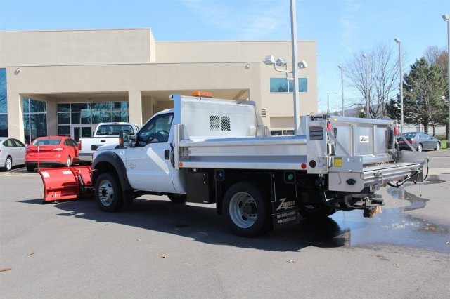 2016 F-550 Regular Cab DRW 4x4, Rugby Dump Body #FTG2671 - photo 2