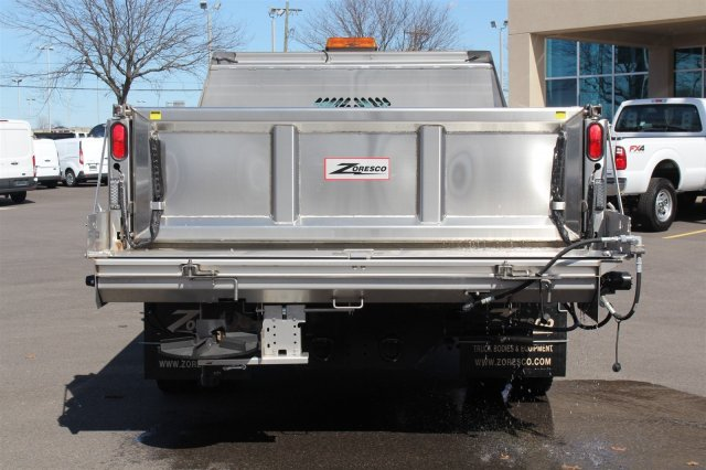 2016 F-550 Regular Cab DRW 4x4, Rugby Dump Body #FTG2671 - photo 6