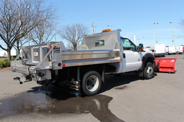 2016 F-550 Regular Cab DRW 4x4, Rugby Dump Body #FTG2671 - photo 7