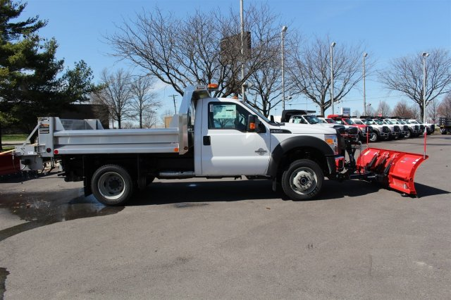 2016 F-550 Regular Cab DRW 4x4, Rugby Dump Body #FTG2671 - photo 8