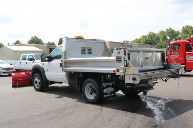 2016 F-550 Regular Cab DRW 4x4, Rugby Dump Body #FTG2802 - photo 3