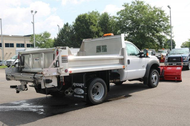 2016 F-550 Regular Cab DRW 4x4, Rugby Dump Body #FTG2802 - photo 7