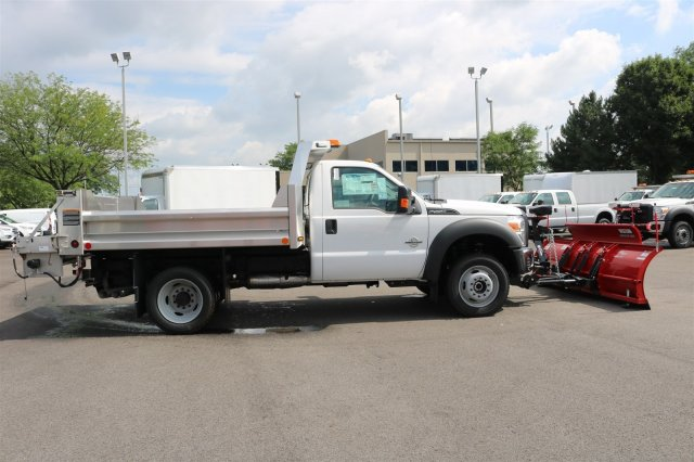 2016 F-550 Regular Cab DRW 4x4, Rugby Dump Body #FTG2802 - photo 8