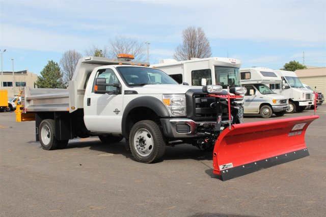 2016 F-550 Regular Cab DRW 4x4, Rugby Dump Body #FTG2951 - photo 3
