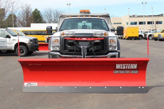2016 F-550 Regular Cab DRW 4x4, Rugby Dump Body #FTG2951 - photo 4