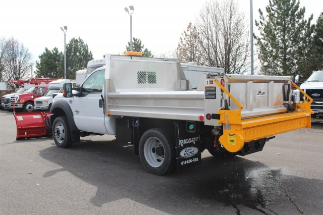 2016 F-550 Regular Cab DRW 4x4, Rugby Dump Body #FTG2951 - photo 2
