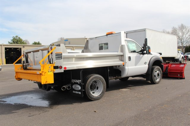2016 F-550 Regular Cab DRW 4x4, Rugby Dump Body #FTG2951 - photo 7