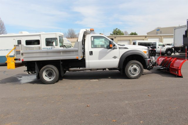 2016 F-550 Regular Cab DRW 4x4, Rugby Dump Body #FTG2951 - photo 8