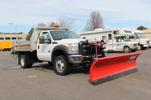 2016 F-550 Regular Cab DRW 4x4, Rugby Dump Body #FTG2953 - photo 3