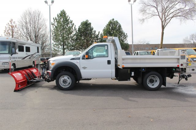 2016 F-550 Regular Cab DRW 4x4, Rugby Dump Body #FTG2953 - photo 5