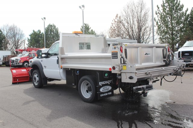 2016 F-550 Regular Cab DRW 4x4, Rugby Dump Body #FTG2953 - photo 2