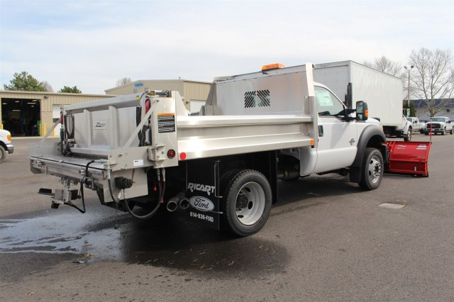 2016 F-550 Regular Cab DRW 4x4, Rugby Dump Body #FTG2953 - photo 7