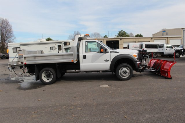 2016 F-550 Regular Cab DRW 4x4, Rugby Dump Body #FTG2953 - photo 8