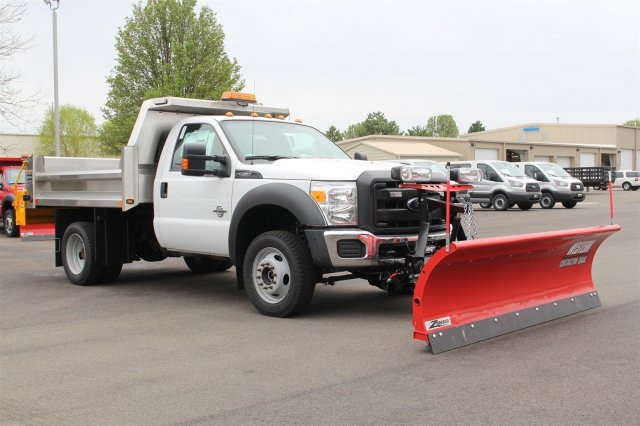 2016 F-550 Regular Cab DRW 4x4, Rugby Dump Body #FTG3020 - photo 3