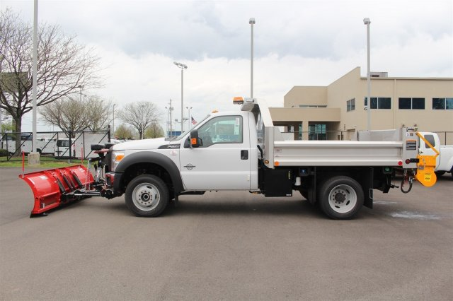 2016 F-550 Regular Cab DRW 4x4, Rugby Dump Body #FTG3020 - photo 5