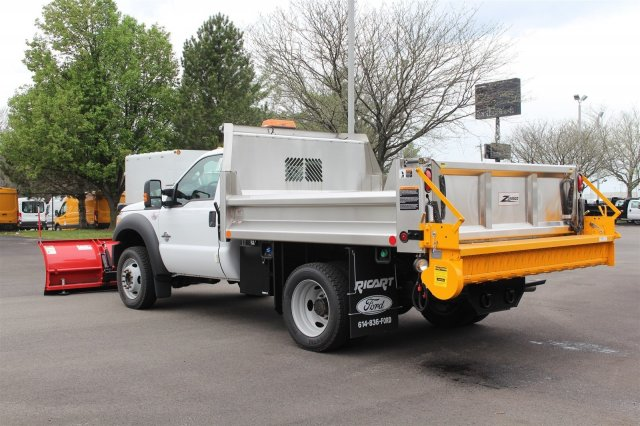 2016 F-550 Regular Cab DRW 4x4, Rugby Dump Body #FTG3020 - photo 2