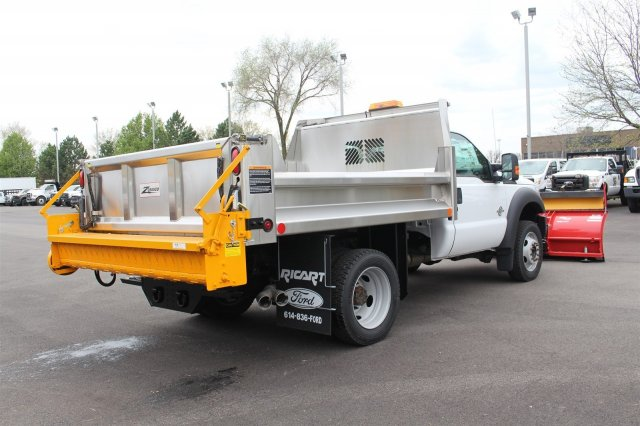 2016 F-550 Regular Cab DRW 4x4, Rugby Dump Body #FTG3020 - photo 7