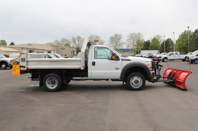 2016 F-550 Regular Cab DRW 4x4, Rugby Dump Body #FTG3020 - photo 8