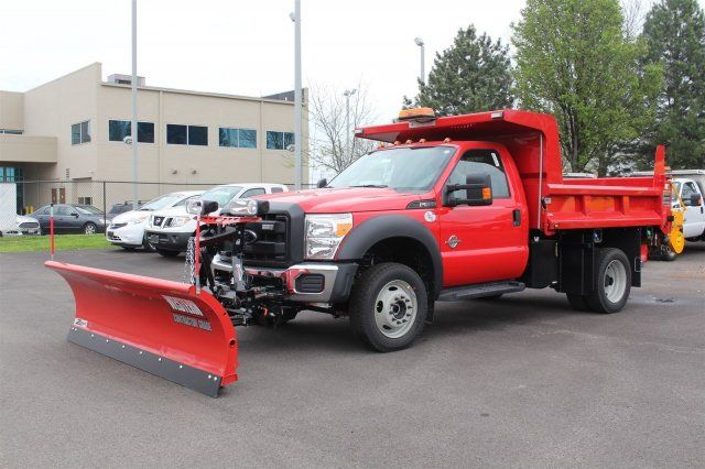 2016 F-550 Regular Cab DRW 4x4, Rugby Dump Body #FTG3087 - photo 2