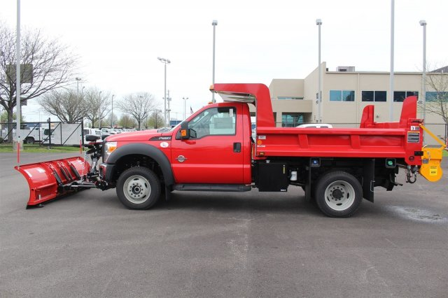 2016 F-550 Regular Cab DRW 4x4, Rugby Dump Body #FTG3087 - photo 5