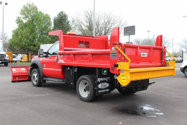 2016 F-550 Regular Cab DRW 4x4, Rugby Dump Body #FTG3087 - photo 3