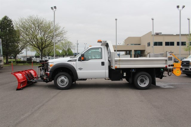 2016 F-550 Regular Cab DRW 4x4, Dump Body #FTG3426 - photo 5