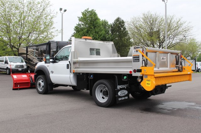 2016 F-550 Regular Cab DRW 4x4, Dump Body #FTG3426 - photo 2