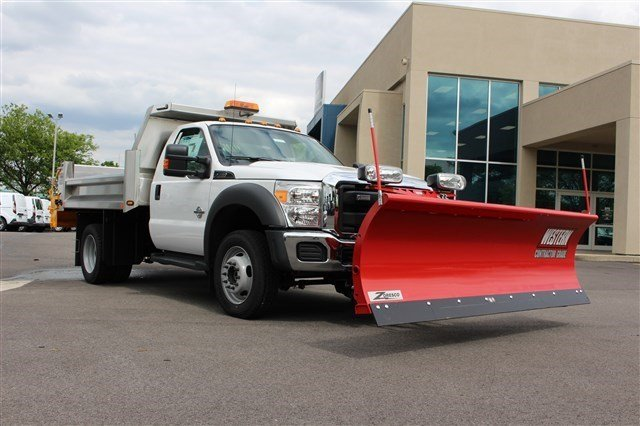 2016 F-550 Regular Cab DRW 4x4, Rugby Dump Body #FTG3458 - photo 3