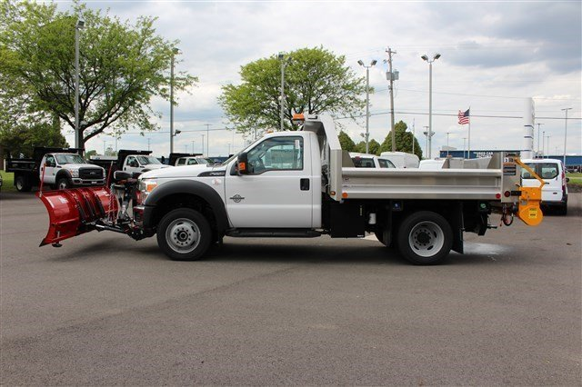 2016 F-550 Regular Cab DRW 4x4, Rugby Dump Body #FTG3458 - photo 5