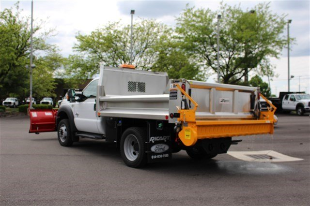 2016 F-550 Regular Cab DRW 4x4, Rugby Dump Body #FTG3458 - photo 2