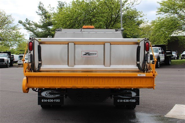 2016 F-550 Regular Cab DRW 4x4, Rugby Dump Body #FTG3458 - photo 6