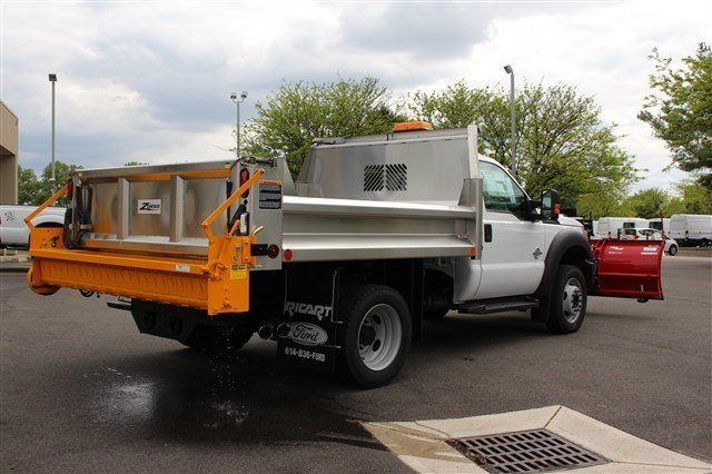 2016 F-550 Regular Cab DRW 4x4, Rugby Dump Body #FTG3458 - photo 7