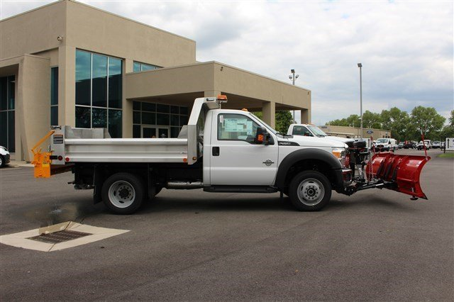 2016 F-550 Regular Cab DRW 4x4, Rugby Dump Body #FTG3458 - photo 8