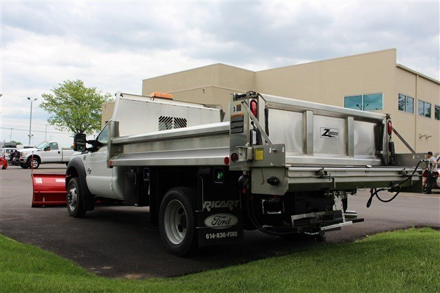 2016 F-550 Regular Cab DRW 4x4, Rugby Dump Body #FTG3582 - photo 2