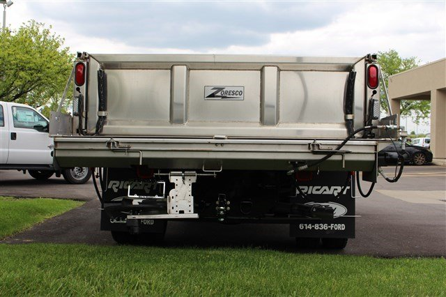 2016 F-550 Regular Cab DRW 4x4, Rugby Dump Body #FTG3582 - photo 6