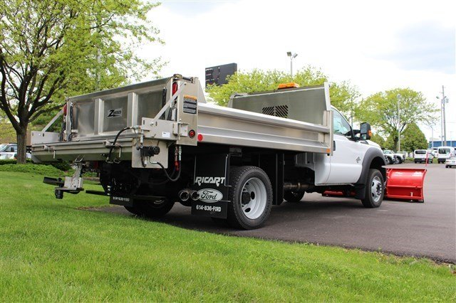 2016 F-550 Regular Cab DRW 4x4, Rugby Dump Body #FTG3582 - photo 7